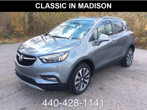Satin Steel Metallic Buick Encore Essence AWD.  Click to enlarge.