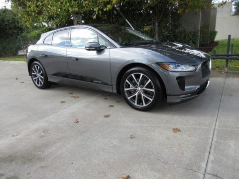 Corris Grey Metallic Jaguar I-PACE First Edition AWD.  Click to enlarge.
