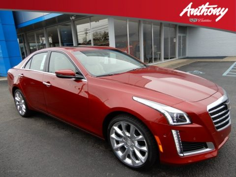 Red Obsession Tintcoat Cadillac CTS Premium Luxury AWD.  Click to enlarge.