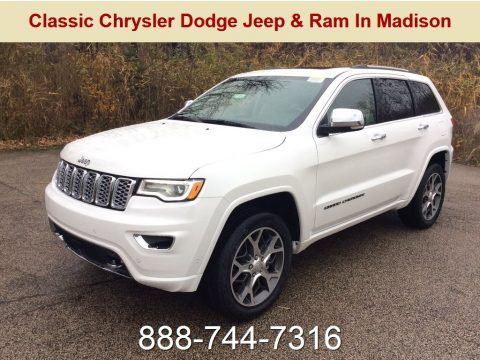 Ivory 3-Coat Jeep Grand Cherokee Overland 4x4.  Click to enlarge.