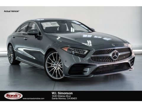 Selenite Grey Metallic Mercedes-Benz CLS 450 Coupe.  Click to enlarge.