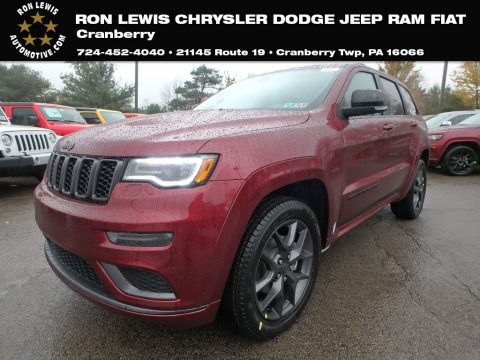 Velvet Red Pearl Jeep Grand Cherokee Limited 4x4.  Click to enlarge.