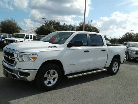 Bright White Ram 1500 Tradesman Crew Cab 4x4.  Click to enlarge.