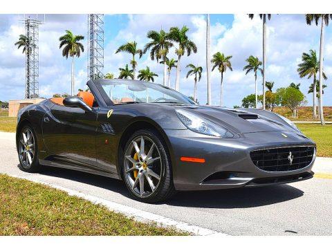 Grigio Silverstone (Dark Gray Metallic) Ferrari California .  Click to enlarge.