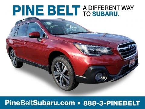 Crimson Red Pearl Subaru Outback 2.5i Limited.  Click to enlarge.