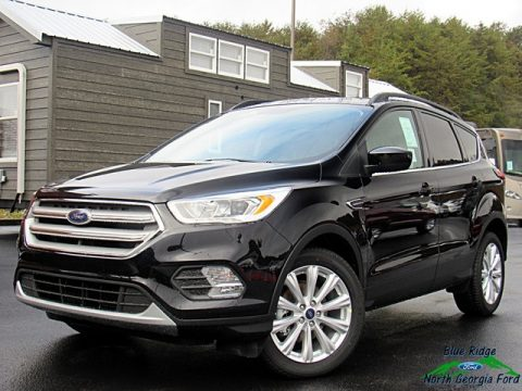 Agate Black Ford Escape SEL.  Click to enlarge.