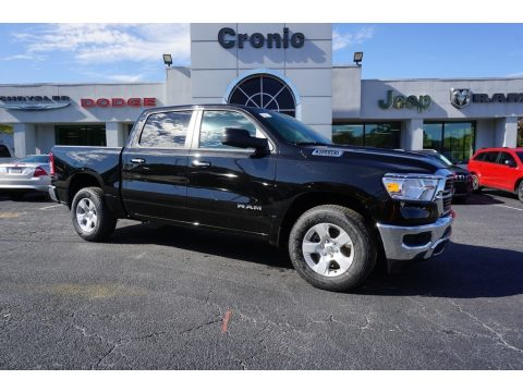 Diamond Black Crystal Pearl Ram 1500 Big Horn Crew Cab.  Click to enlarge.