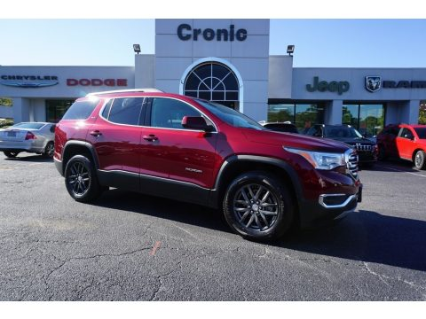 Crimson Red Tintcoat GMC Acadia SLT.  Click to enlarge.