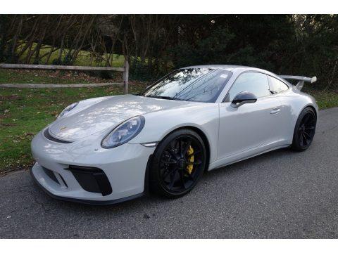 Chalk Porsche 911 GT3.  Click to enlarge.