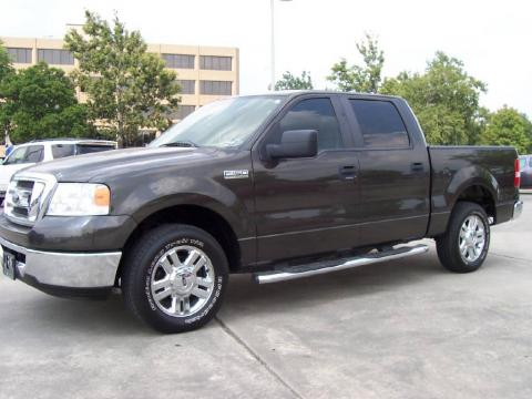 Dark Stone Metallic Ford F150 Texas Edition SuperCrew.  Click to enlarge.