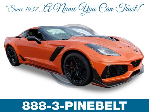 Sebring Orange Tintcoat Chevrolet Corvette ZR1 Coupe.  Click to enlarge.