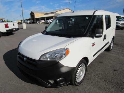 Bright White Ram ProMaster City Tradesman Cargo Van.  Click to enlarge.
