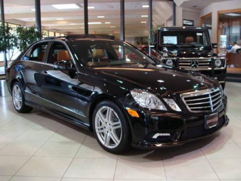 New 2010 mercedes benz e 550 sedan for sale stock for Prestige mercedes benz paramus nj
