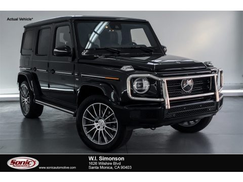 Obsidian Black Metallic Mercedes-Benz G 550.  Click to enlarge.