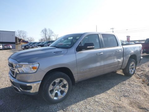 Billett Silver Metallic Ram 1500 Big Horn Crew Cab 4x4.  Click to enlarge.