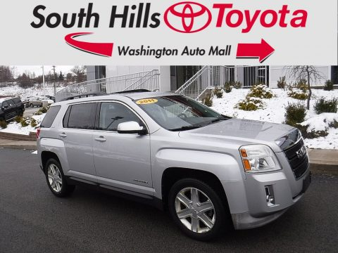 Quicksilver Metallic GMC Terrain SLT AWD.  Click to enlarge.