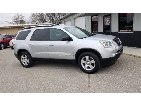 Quicksilver Metallic GMC Acadia SLE.  Click to enlarge.