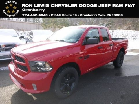 Flame Red Ram 1500 Classic Express Quad Cab 4x4.  Click to enlarge.