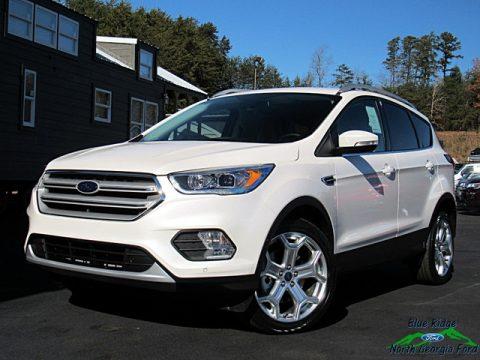 White Platinum Ford Escape Titanium 4WD.  Click to enlarge.