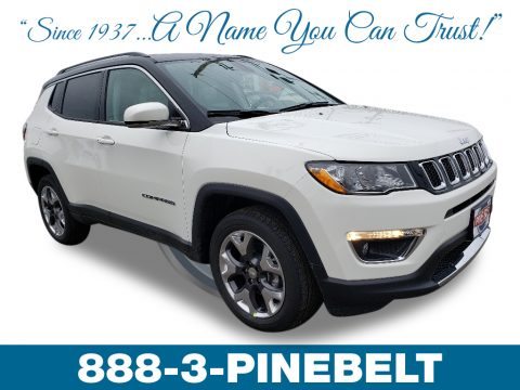 White Jeep Compass Limited 4x4.  Click to enlarge.