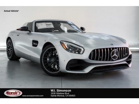 designo Iridium Silver Magno (Matte) Mercedes-Benz AMG GT Roadster.  Click to enlarge.