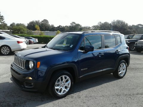 Jetset Blue Jeep Renegade Latitude.  Click to enlarge.