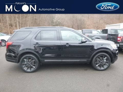 Agate Black Ford Explorer XLT 4WD.  Click to enlarge.