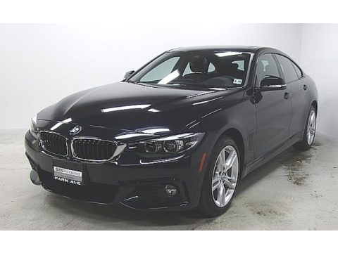 Carbon Black Metallic BMW 4 Series 430i xDrive Gran Coupe.  Click to enlarge.