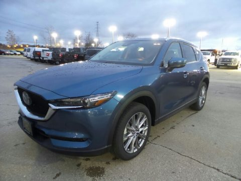 Eternal Blue Mica Mazda CX-5 Grand Touring Reserve AWD.  Click to enlarge.