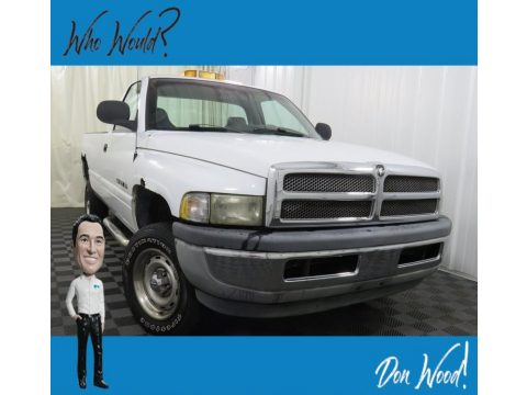 Bright White Dodge Ram 1500 ST Regular Cab 4x4.  Click to enlarge.