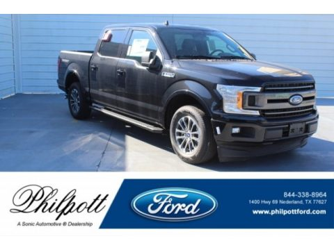 Agate Black Ford F150 XLT SuperCrew.  Click to enlarge.