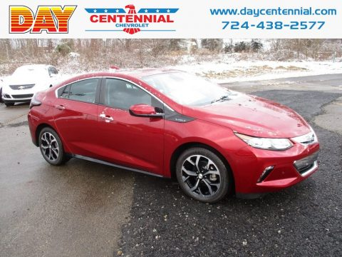 Cajun Red Tintcoat Chevrolet Volt Premier.  Click to enlarge.