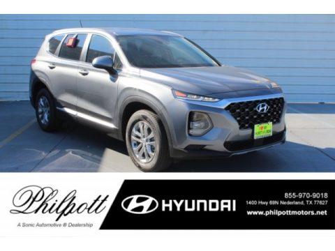 Machine Gray Hyundai Santa Fe SE.  Click to enlarge.