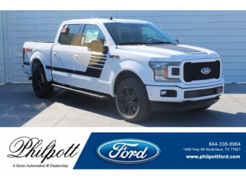 Oxford White Ford F150 XLT Sport SuperCrew 4x4.  Click to enlarge.
