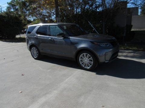 Corris Gray Metallic Land Rover Discovery HSE Luxury.  Click to enlarge.