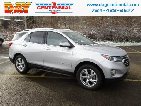 Silver Ice Metallic Chevrolet Equinox Premier AWD.  Click to enlarge.