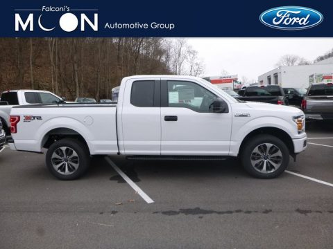 Oxford White Ford F150 STX SuperCab 4x4.  Click to enlarge.