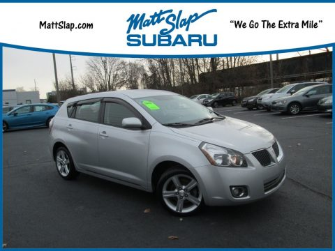 Liquid Platinum Metallic Pontiac Vibe 2.4.  Click to enlarge.