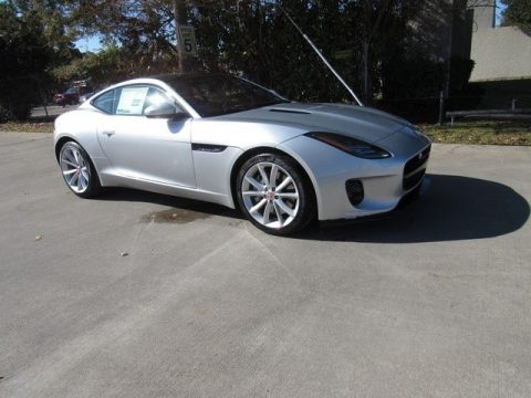 Indus Silver Metallic Jaguar F-Type Coupe.  Click to enlarge.