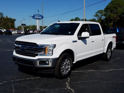 Oxford White Ford F150 Lariat SuperCrew 4x4.  Click to enlarge.