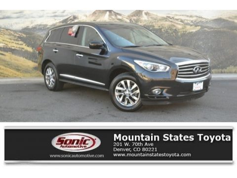 Black Obsidian Infiniti JX 35 AWD.  Click to enlarge.