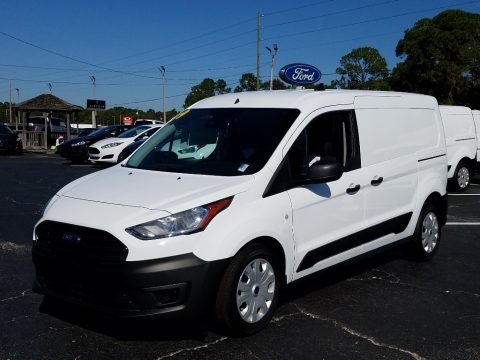 White Ford Transit Connect XL Van.  Click to enlarge.