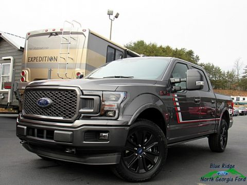 Magnetic Ford F150 Lariat Sport SuperCrew 4x4.  Click to enlarge.