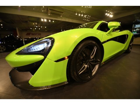 Napier Green McLaren 570S Coupe.  Click to enlarge.