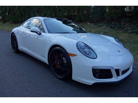White Porsche 911 Carrera GTS Coupe.  Click to enlarge.