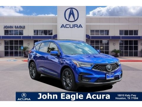 Apex Blue Pearl Acura RDX A-Spec.  Click to enlarge.