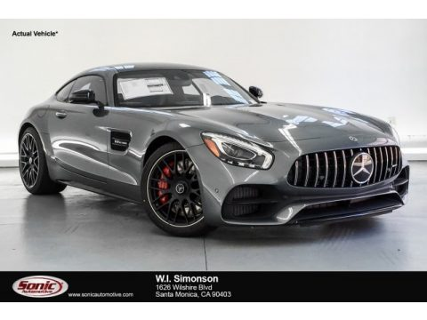 Selenite Grey Metallic Mercedes-Benz AMG GT C Coupe.  Click to enlarge.