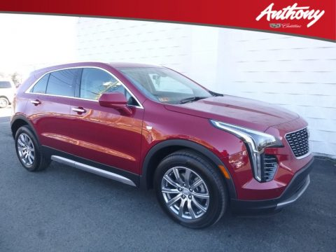Red Horizon Tintcoat Cadillac XT4 Premium Luxury AWD.  Click to enlarge.
