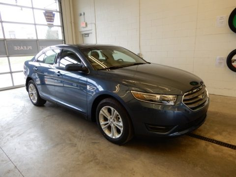 Blue Metallic Ford Taurus SEL AWD.  Click to enlarge.