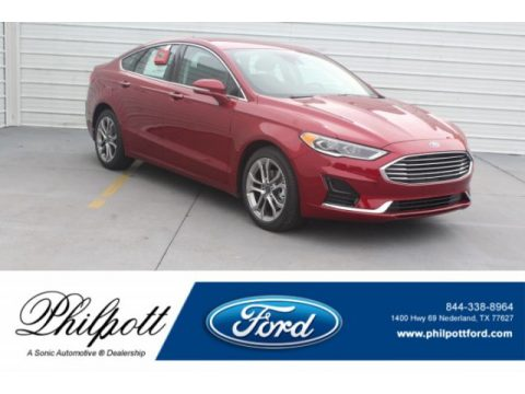 Ruby Red Ford Fusion SEL.  Click to enlarge.